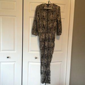 NWT: Snake print jumpsuit